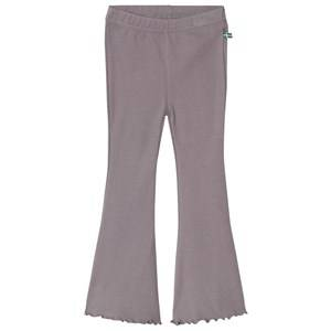The BRAND Jazz Ribbed Pants Graphite Grey 104/110 cm