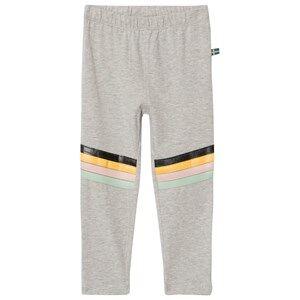 The BRAND Rainbow Leggings Grey Melange 92/98 cm