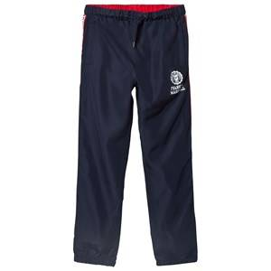 Marshall Franklin & Marshall Navy and Red Side Stripe Popper Track Bottoms 12-13 years
