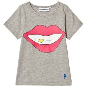 Gardner and the gang The Cool Tee Smile Heather Grey 9-12 Months