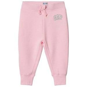 GAP Logo Pants Old School Pink 18-24 Months