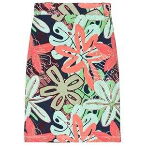 Koolabah Multicolor Flower Bomb Maxi Skirt 98 cm (2-3 Years)