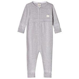 Lillelam Baby One-Piece Medium Grey 52 cm (0-1 Months)