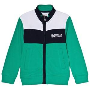 Marshall Franklin & Marshall Green Colorblock Sweater 14-15 years