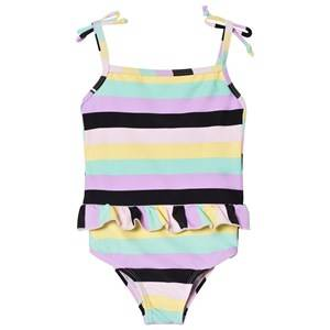 The BRAND Classic Swimsuit Pastel Stripe 68/74 cm
