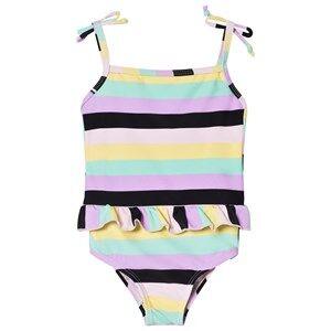 The BRAND Classic Swimsuit Pastel Stripe 104/110 cm