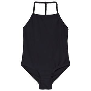 The BRAND Plait Swimsuit Black 104/110 cm