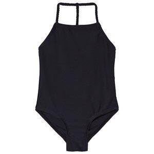 The BRAND Plait Swimsuit Black 116/122 cm
