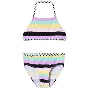The BRAND Plait Bikini Pastel Stripe 104/110 cm