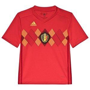 Belgium National Football Team Belgium 2018 World Cup Home Replica Jersey 11-12 years (152 cm)