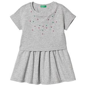 Image of United Colors of Benetton Dress Grey Melange XL (10-11 years)