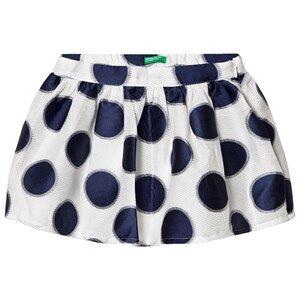 United Colors of Benetton Skirt Polkadot White EL (11-12 years)