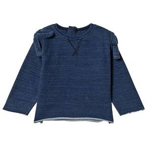 The BRAND Bow Indigo Long Sleeve T-Shirt 68/74