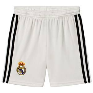 Image of adidas Performance Real Madrid 18 Home Shorts White 15-16 years (176 cm)