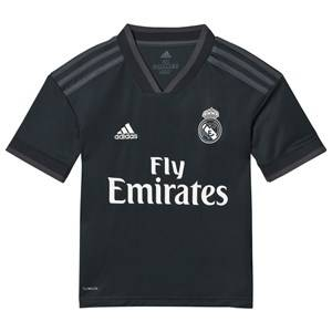 Image of Real Madrid Real Madrid 18 Away Shirt Black 13-14 years (164 cm)