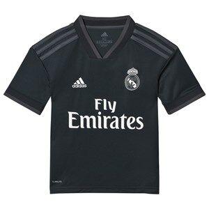 Image of Real Madrid Real Madrid 18 Away Shirt Black 15-16 years (176 cm)