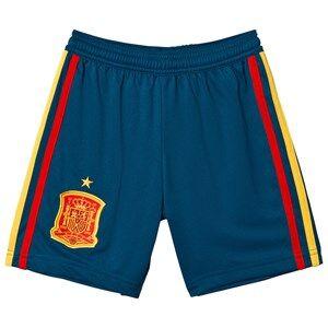 Spain National Football Team Spain 2018 World Cup Home Shorts 13-14 Years
