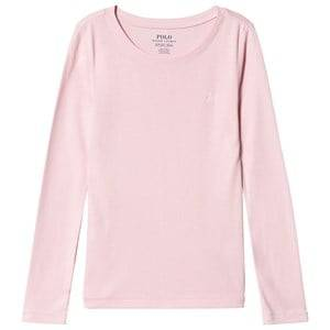 Ralph Lauren Pink Long Sleeve Tee with PP 3 years