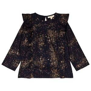 Image of Soft Gallery Bette Shirt Sprinkle Black Iris 6 years