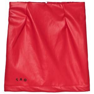 The Animals Observatory Wombat Skirt Red Apple Black Tao 6 Years