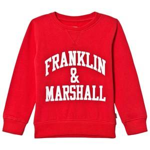 Marshall Franklin & Marshall Red Branded Sweater 8-9 years