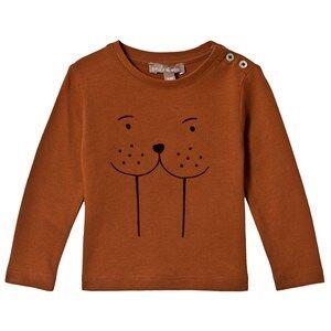 Emile et Ida Baby T-Shirt Renard Morse 3 Months