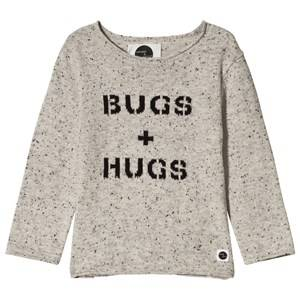 Sproet & Sprout Bugs & Hugs Knit Sweater Grey 74-80 (9-12 months)