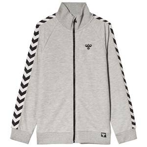 Image of Hummel Carlos Jacket Grey Melange 116 cm (5-6 Years)