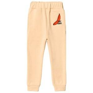 Gardner and the gang Track Suit Pants Fruit I Adore Banana Beige 3-4 Years