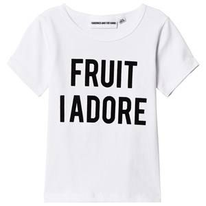Gardner and the gang The Cool Tee Fruit I Adore White 6-8 Years