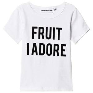 Gardner and the gang The Cool Tee Fruit I Adore White 1-2 Years