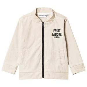 Gardner and the gang Corduroy Track Suit Jacket World Champion Beige 6-8 Years