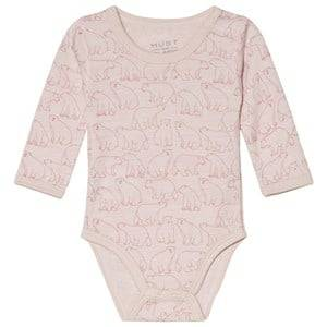Hust&Claire; Bo Baby Body Pink 56 cm (1-2 Months)