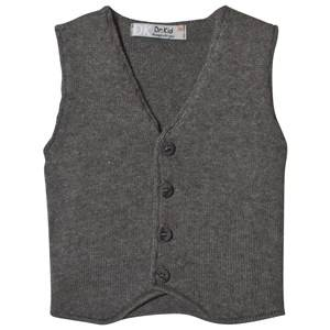 Image of Dr Kid Grey Knitted Waistcoat 6 months