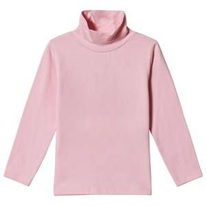 Image of Dr Kid Pink Roll Neck Long Sleeve Top 6 years