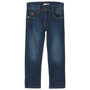 Dr Kid Blue Mid Wash Jeans 12 months