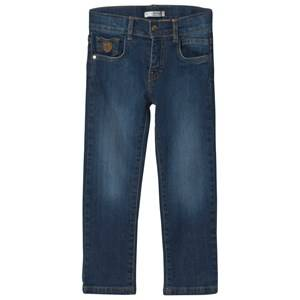 Image of Dr Kid Blue Mid Wash Jeans 6 years