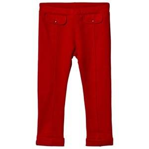 Image of Dr Kid Red Pocket Effect Leggings 6 months