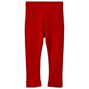 Image of Dr Kid Red Pocket Effect Leggings 6 years