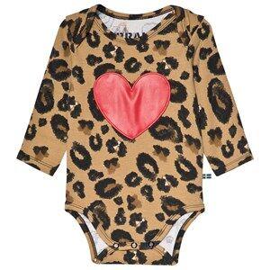 The BRAND Heart Baby Body Leo 56/62 cm