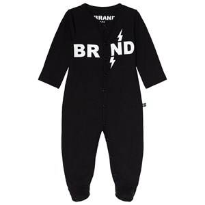 The BRAND Baby One-Piece Black Pyjamas