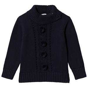 Image of Dr Kid Navy Pom-Pom Sweater 6 years