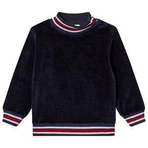 Mini A Ture Jannic Sweatshirt Sky Captain Blue 122 cm (6-7 Years)