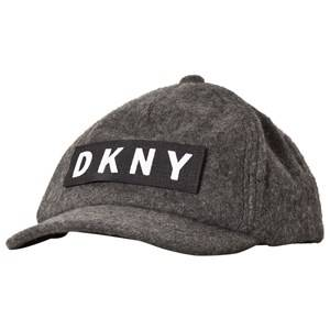 DKNY Grey Wool Logo Cap Baseball caps