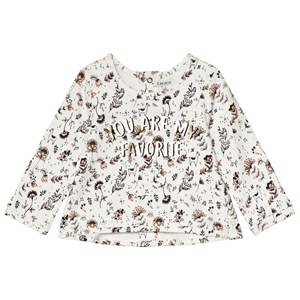 IKKS White You Are My Favourite Print Top 2 years