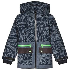 Stella McCartney Kids Black Snow Ski Jacket Ski jackets