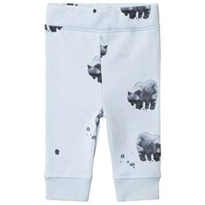 One We Like Bear Relax Pants Baby Blue 12M (74/80)