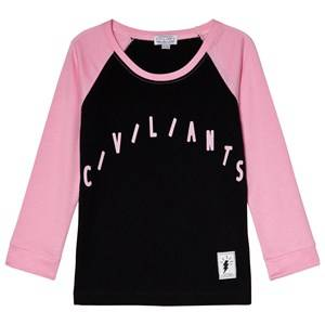 Civiliants Raglan Tee Pink 104/110 cm