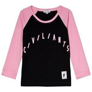 Civiliants Raglan Tee Pink 92/98 cm