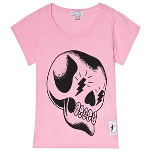 Civiliants Skull Print Tee Pink 116/122 cm